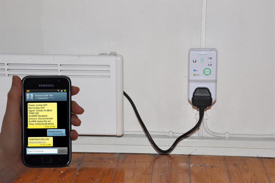 Удаленный GSM контроль отопления