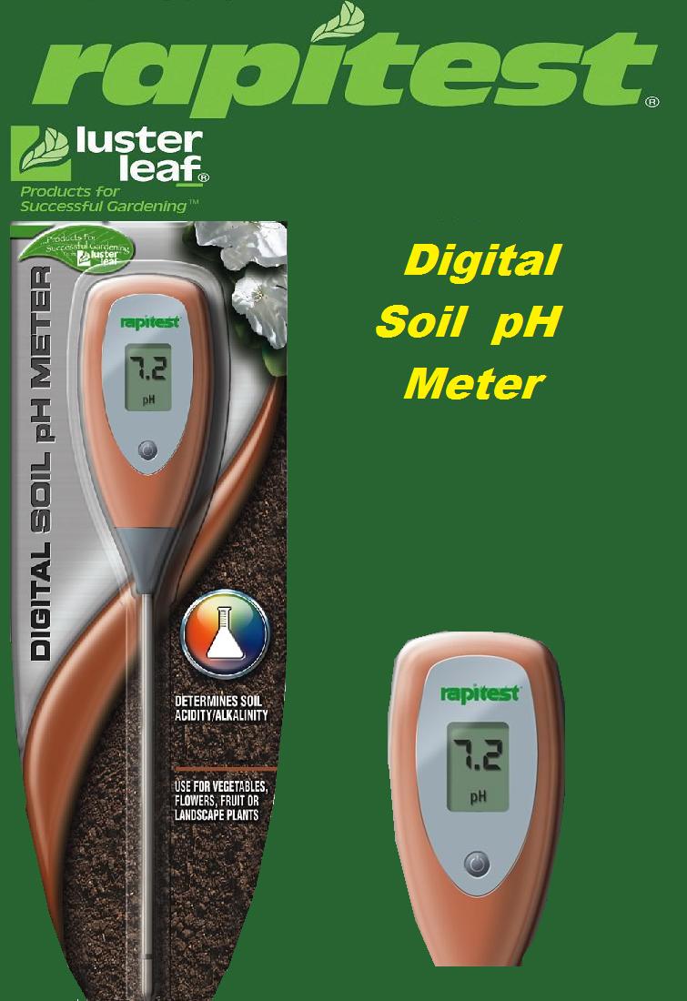 Цифровой измеритель кислотности/щелочности почвы pH- метр Ластер Лиф