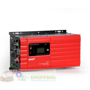 Инвертор MUST POWER  EP 3кВт - 24В-220В чистый синус  Инвертор MUST POWER PH 3кВт - 24В-220В чистый синус